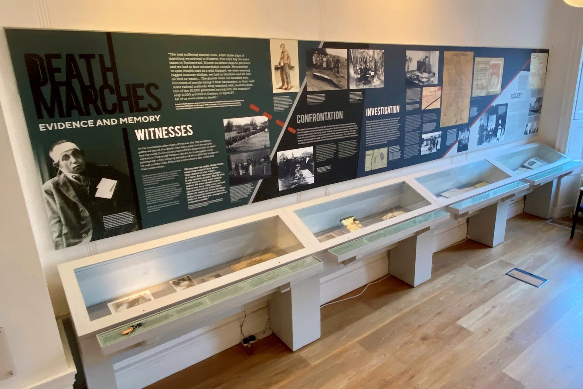 'Death Marches: Evidence and Memory' Exhibition